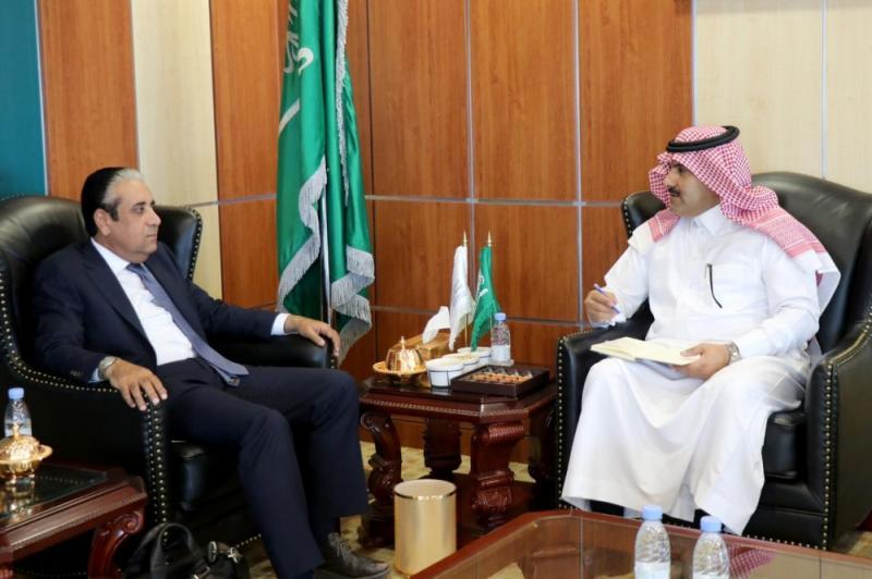 حافظ معياد يلتقي السفير السعودي