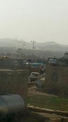 إشتداد المواجهات بين الجيش ومسلحي الحوثي بعمران والحوثيون يحاصرون المكتب التنفيذي للإصلاح بعمران تمهيداً لتفجيره