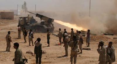 إستمرار المواجهات بين الجيش ومسلحي الحوثي بعمران في محيط حي القشلة ومنطقة بيت باكر - والحوثيون يسعون إلى فتح معركة حرب الشوارع