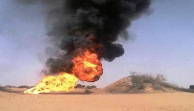 أمن مأرب يكشف هوية مفجر أنبوب النفط في كيلو 102
