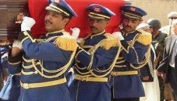 ( بالأسماء) تشييع جثامين 8 شهداء من منتسبي القوات المسلحة الذين استشهدوا في محافظة عمران على أيدي العناصر الحوثية المسلحة