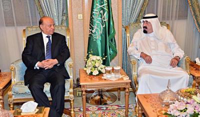 الملك السعودي على خط الأزمة كوسيط بين هادي وصالح من جهة وبين صالح وحزب الإصلاح من جهة أخرى ( تفاصيل)