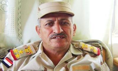 وصول جثمان العميد حميد القشيبي إلى قاعدة الديلمي الجوية بصنعاء