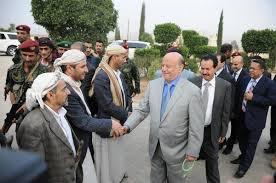 """بعد """"20"""" يوماً من زيارة هادي للمحافظة وحديثه عن عودة الأمن والاستقرار.. الحكومة تشكو سطوة الحوثي في عمران للرئيس"""