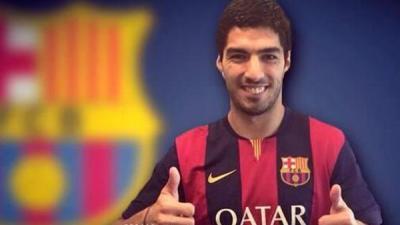 برشلونة يقدّم سواريز أمام الجماهير يوم الإثنين