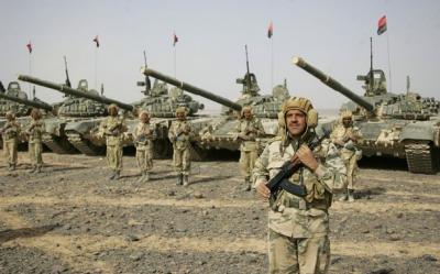 لواء عسكري من ألوية الإحتياط يستعد لحماية العاصمة ويُنفذ تدريبات قتاليه