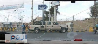 ( شاهد بالصور) قوات الجيش والأمن تحمي مؤسسات الدولة وتنتشر على خطوط التماس مع الحوثيين