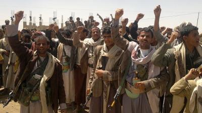 """"""" الصرخة الحوثية """" توقع إشتباكات داخل مسجد النور بالعاصمة صنعاء وتُخلف قتلى وجرحى"""
