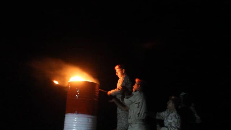 إيقاد شعلة الثورة في المنطقة العسكرية السادسة وجبال قريبة من صنعاء