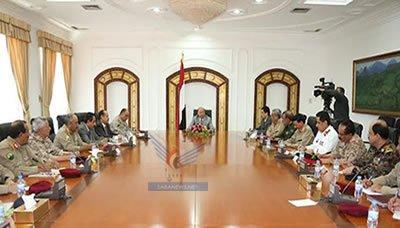 الرئيس هادي : يصف إنتشار الحوثي بالإنتشار الممنهج الذي يهدف إلى إضعاف صلاحيات الدولة