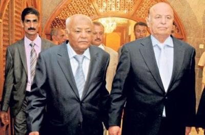"""باسندوة لهادي : """"نرحل سوياً أو نبقى سوياً"""" ( تفاصيل جلسة مجلس الوزراء التي عقدت على مرحلتين)"""