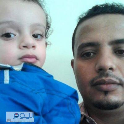 """الحوثيون يقتحمون أحد المنازل في منطقة """" حزيز """" ويقتلون المهندس يحي العامري بعد أن منعهم من دخول منزله ( صورة )"""