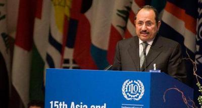 منظمة العمل العربية تطلق تقريرها الرابع واليمني السفير - أحمد لقمان يتفاءل بالمستقبل العربي