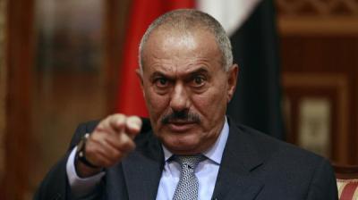 """في تغيراً ملحوظ في الخطاب تجاه جماعة الحوثي  .. الرئيس السابق """" صالح """" يوجه إنتقادات للحوثيين"""