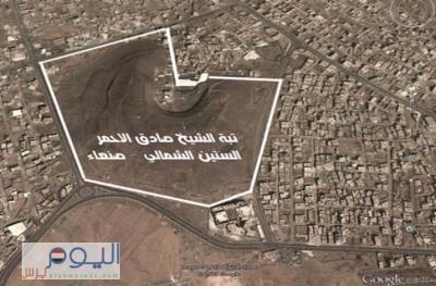 """المسلحين الحوثيين يستميتون في السيطرة على """" تبة صادق """"  ويشنون هجوماً عنيفاً من الجهة الغربية باتجاه منطقة شملان والجيش يتصدى لهم"""