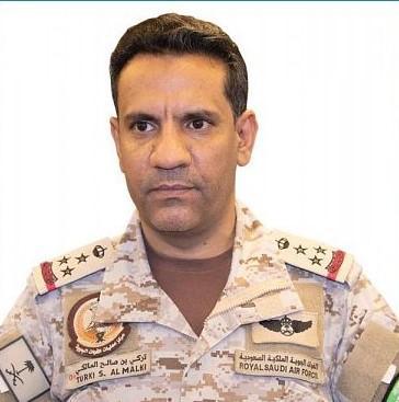 """ناطق التحالف : قوات التحالف المشتركة تدمر 3 طائرات """"مفخخة"""" أطلقها الحوثيون باتجاه السعودية"""