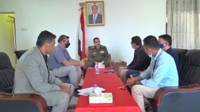 وزير الداخلية يبحث مع مكتب الأمن والسلامة التابع للأمم المتحدة سبل تعزيز دور الأمن