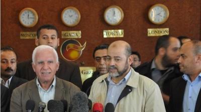 إتفاق شامل بين حماس وفتح حول إدارة غزة