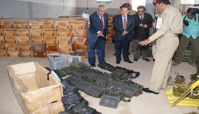 """السلطات اليمنية تفرج عن طاقم سفينة تهريب الأسلحة الإيرانية """" جيهان """" بعد يومين من إطلاق سراح خبيرين إيرانيين"""