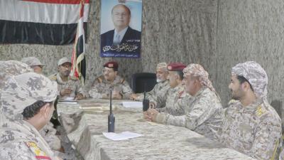 اجتماع عسكري بمأرب يشيد بتضحيات الجيش الوطني وتدارس الأوضاع العسكرية