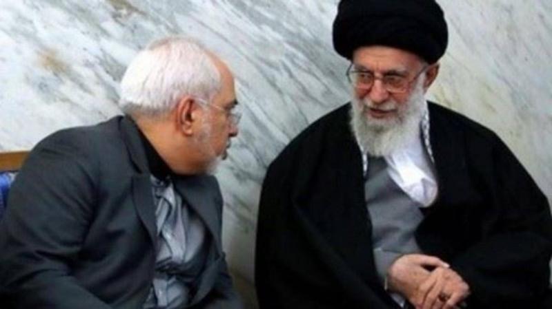 """وزير الخارجية الإيراني يعلق على الانتقادات اللاذعة إليه من قبل المرشد """" خامنئي"""""""