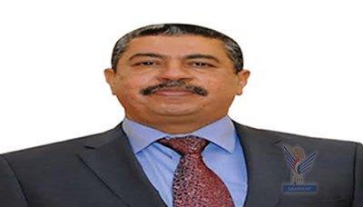 """رئيس الوزراء """" بحاح"""" يصل صنعاء  منذ تكليفه لرئاسة الحكومة - ويُدلي بأول تصريحاً له"""