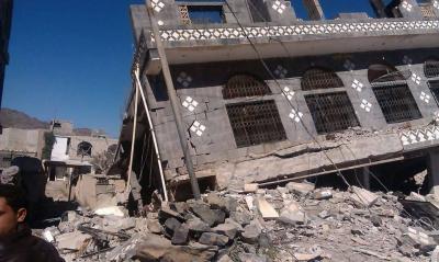 مأساة بيت الشيخ علي بدير في يريم إب  والذي قُتل بداخله أطفال بعمر الزهور على يد الحوثيين - وكما يرويها أحد الصحفيين ( صور - تفاصيل )