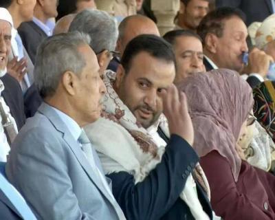 """ممثل الحوثيين - مستشار رئيس الجمهورية """" الصماد"""" يجتمع مع اللجنة الأمنية العليا ويتخذ عدداً من القرارات الأمنية"""