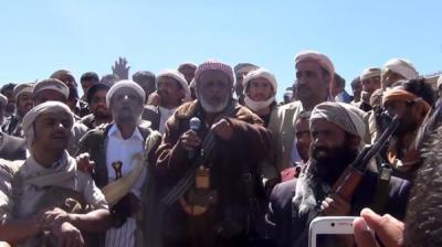 قبائل البيضاء ترفض تواجد المسلحين الحوثيين في مناطقها وتحذر المؤسسة العسكرية والأمنية من مساندة الحوثيين