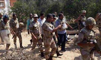 مقتل 29 جنديا مصريا والسيسي يدعو لإجتماع عاجل لمجلس الدفاع الوطني