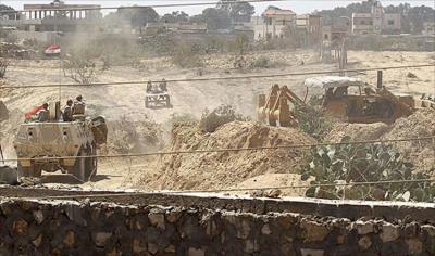 الجيش المصري يأمر بإخلاء رفح لإقامة منطقة عازلة مع غزة