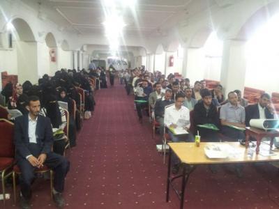 تدريب اعضاء اللجان الميدانية المشاركة في توزيع المساعدات الغذائية في خمس محافظات