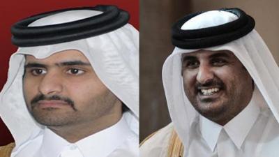 أمير قطر يُعين شقيقه نائباً له