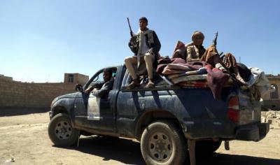 اشتباكات عنيفة برداع ومقثل العشرات في هجوم استهدف منزل قيادي حوثي