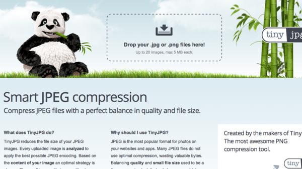 موقع يضغط الصور لتقليل مساحتها مع الحفاظ على الدقة