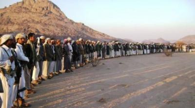 قبائل مأرب تتعهد بحماية المحافظة من الحوثيين وصد أي عدوان يقع عليها