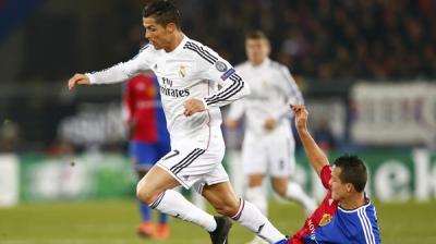 رونالدو يقود الريال للفوز على بازل بصعوبة ويسجل هدفه الـ 71 في دوري أبطال أوروبا