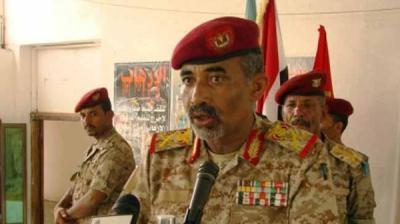 """وزير الدفاع اللواء """" الصبيحي """" يؤكد من عدن أن تظاهرات الاستقلال ستمر بأمان ويعقد اجتماعاً أمنياَ لإتخاذ التدابير"""