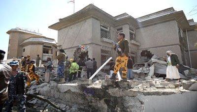 تنظيم القاعدة يعلن مسؤوليته عن التفجير الذي استهدف منزل السفير الايراني بصنعاء