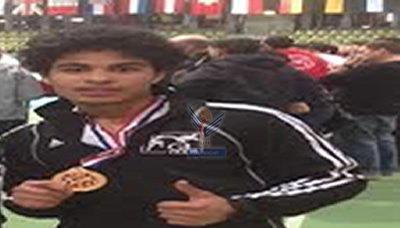شاب يمني يحقق ذهبية في بطولة بارك الدولية بألمانيا