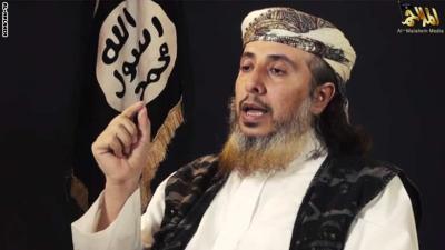 ( شاهد بالفيديو) تنظيم القاعدة في اليمن يوجه رسالة إلى الشعب الأمريكي حول قتل الرهينة الأمريكي ورفيقه ويكشف عن تفاصيل العملية