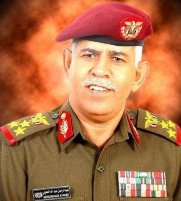 قائد المنطقة العسكرية الأولى اللواء الحليلي  ينجو من محاولة اغتيال
