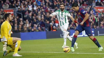 برشلونة يسحق قرطبة بخماسية نظيفة