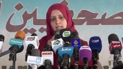 رضيه المتوكل تشن هجوماً لا ذعاً على الحوثيين