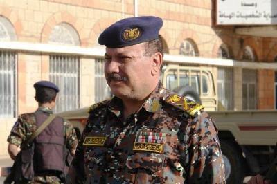 """قائد قوات الأمن الخاصة اللواء """" المروني """" يشكوا من تصنيفه بأنه حوثي"""