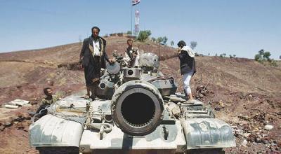 قائمة بالترسانة العسكرية التي نهبها مسلحو الحوثي من اللواء الثالث حماية رئاسية