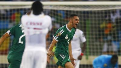 الجزائر تهزم السنغال وتتأهل إلى ربع النهائي في كأس أمم إفريقيا