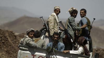مقتل 5 مسلحين حوثيين برداع