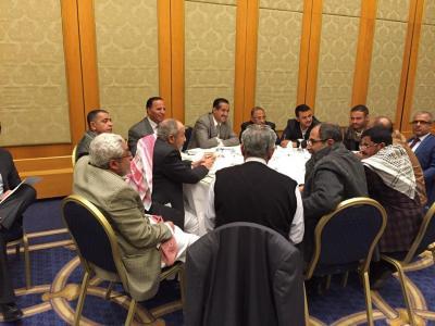 مصادر تكشف نتائج إجتماع القوى السياسية الذي عقد مساء اليوم برعاية بنعمر
