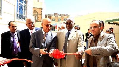 بالتزامن مع افتتاح مبنى برنامج الدراسات العليا  .. وفد من جامعة الجزيرة السودانية يزور جامعة الرازي بصنعاء